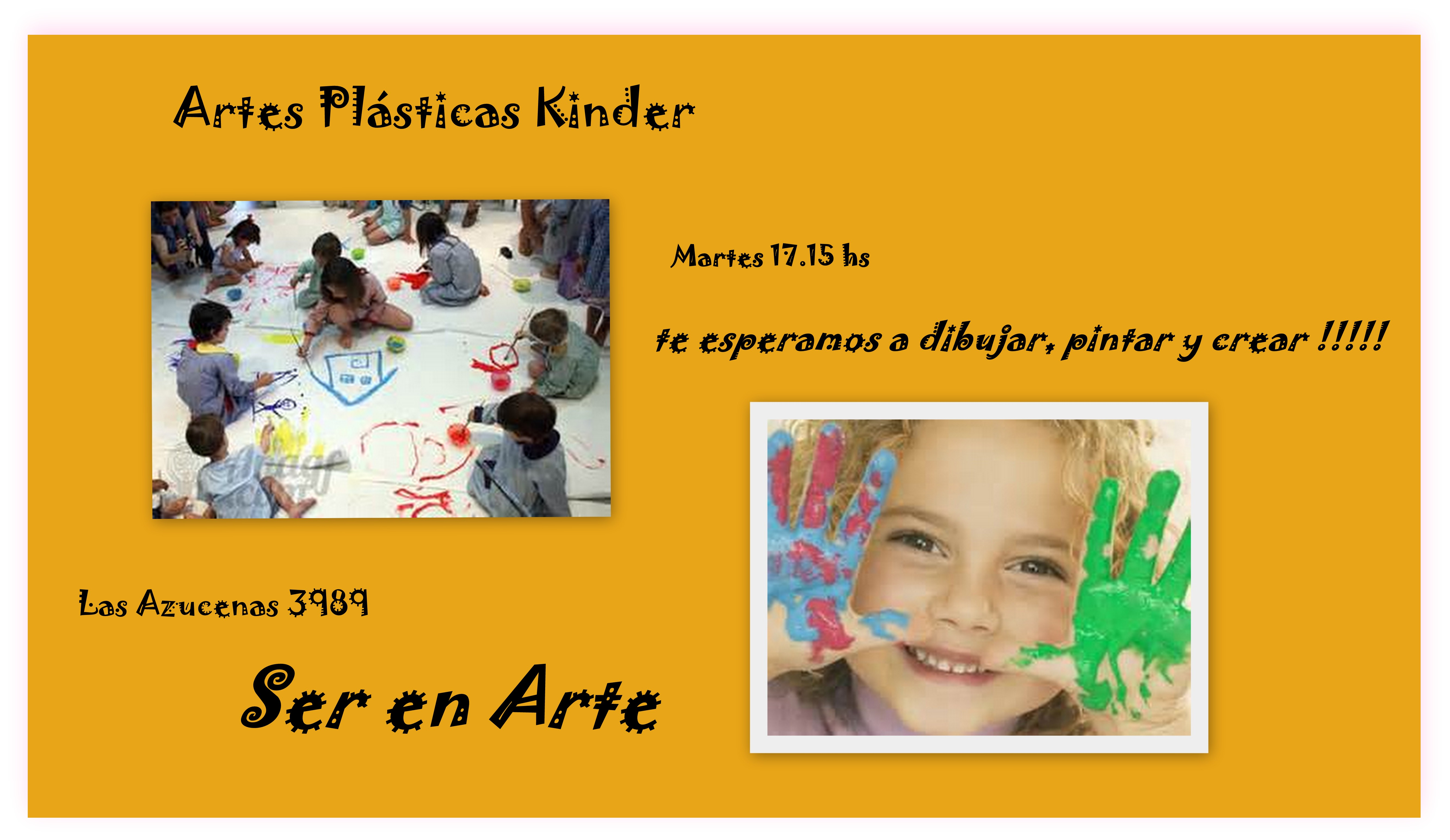 Artes Plásticas Kinder